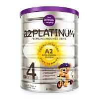 A2.澳洲 platinum白金版酪蛋白儿童奶粉 婴儿奶粉 婴幼儿奶粉新西兰原装 4段(3-6岁)900g