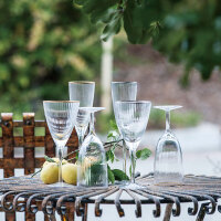 奇居良品 样板间饰品 兰迪玻璃酒具红酒杯香槟杯高脚杯