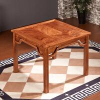 中式八仙桌实木餐厅家具四方形餐桌椅组合木餐桌