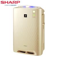夏普 (SHARP) 空气净化器家用 KC-CD60-N 加湿型除甲醛 除PM2. 5 除雾霾适用三种高效滤网+加湿