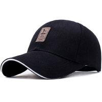 男士休闲棒球帽户外骑行遮阳帽韩版长檐太阳帽鸭舌帽