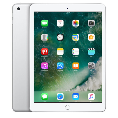 Apple iPad 平板电脑 9.7英寸(32G WLAN版/A9 芯片/Retina显示屏/Touch ID技术 MP2G2CH/A)银色可使用礼品卡支付 国行正品 全国联保