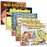 英文原版绘本 神奇校车系列5册 The Magic School Bus 神奇校巴 英文版儿童科普图画书 进口现货正版