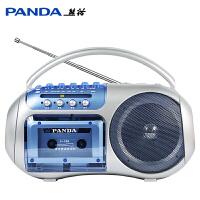 PANDA/熊猫 F-138小学生复读机录音可放磁带英语学习教学用学生用初中生听力播放机器单放机正品便携式随身听 音质