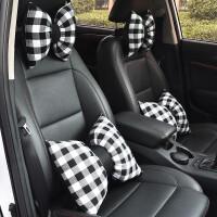 汽车头枕座椅靠枕一对可爱四季车用腰枕车内用品车载腰靠垫护颈枕