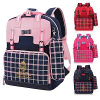 新款小学生书包女童1-3-4一三年级韩版防水耐磨女孩儿童双肩书包