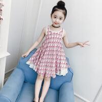 女大童夏装连衣裙小女孩雪纺裙洋气公主裙儿童裙子潮