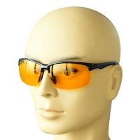 偏光太阳护目镜司机夜间驾驶眼镜黄色镜片男女通用司机夜视防护镜