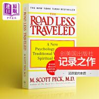 【中商原版】M斯科特.派克 少有人走的路:心智成熟的旅程 英文原版The Road Less Traveled 心理学杰作 经典畅销书籍 M. Scott Peck
