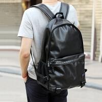 欧美时尚双肩包男韩版潮流电脑包学院风书包运动休闲旅行背包