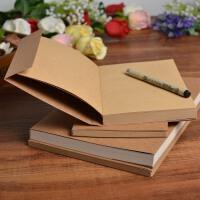 复古牛皮纸空白速写本子 绘画涂鸦本 素描本记事笔记本 254页