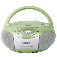 熊猫/PANDA CD-850 多功能DVD复读播放机CD胎教机磁带录音机收音收录机MP3播放器音响 绿色