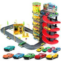 儿童玩具车轨道车小汽车停车场套装宝宝男孩子0-1-3-5-6岁各类车4 精美彩盒包装