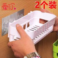 卫生间置物架壁挂浴室置物架免打孔厕所吸壁式吸盘卫浴收纳三角架 p1r