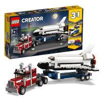 【当当自营】LEGO乐高积木 创意百变组Creator系列 31091 航天飞机运输车 玩具礼物