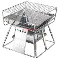 烧烤炉小号不锈钢折叠便携烤架情侣炉背包客也能轻松烤肉