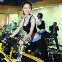 瑜伽健身服套装女 显瘦运动跑步背心七分短裤健身房