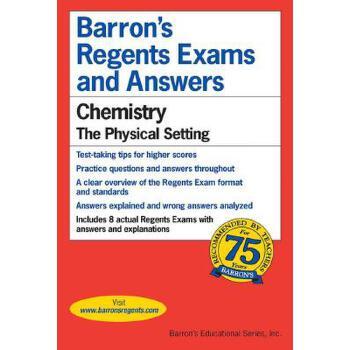 【预订】Regents Exams and Answers: Chemistry 预订商品,需要1-3个月发货,非质量问题不接受退换货。