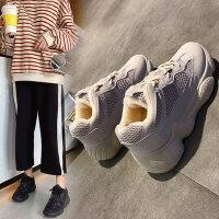 棉鞋雪地靴女新款韩版百搭加绒中筒学生绒面保暖防滑女款