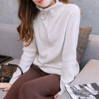 羊绒衫女秋冬新款舒适修身短款套头针织打底衫羊绒毛衣女