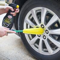 汽车轮毂刷轮胎刷子专用钢圈细节刷擦车清洗工具通水洗车刷车拖把