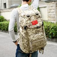户外大容量登山包军迷战术背包双肩包男迷彩休闲运动旅行背包60L