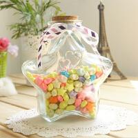 【支持万博客户端最新版卡】星星瓶玻璃瓶许愿瓶 幸运星玻璃瓶 漂流瓶创意木塞糖果 u1s