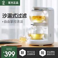 鸣盏MZ-1151煮茶器小全自动加厚玻璃家用电热水壶多功能黑花茶饮机养生壶