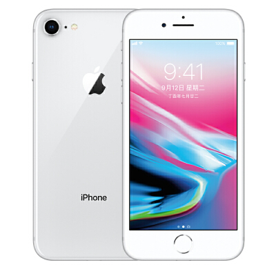 Apple iPhone 8 (A1863)  64G 银色 支持移动联通电信4G手机可使用礼品卡支付 国行正品 全国联保