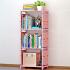索尔诺简易书架 书柜置物架 创意组合层架子 落地书橱sjsx104