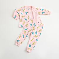婴儿童内衣套装棉衣服728宝宝5春季9睡衣01岁3个月春款6