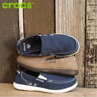 【迎春大放价】Crocs男鞋 夏季卡骆驰户外透气一脚蹬 帆布鞋男休闲便鞋|11270 沃尔卢