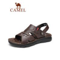 camel骆驼商务凉鞋男2019夏季新款两用沙滩鞋平底防滑爸爸鞋休闲凉拖鞋