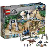 【当当自营】LEGO乐高积木侏罗纪世界系列75937 暴走三角龙