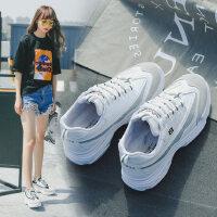 户外运动鞋女韩版时尚休闲小白鞋 女鞋百搭鞋子