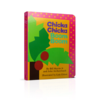 Chicka Chicka Boom Boom [Board Book] 《叽喀叽喀碰碰》(卡板书)