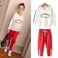 中大女童秋装运动服套装韩版洋气童装儿童时髦两件套宽松