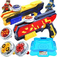 灵动创想魔幻陀螺4代新款儿童玩具梦幻双核枪之聚能引擎发光5男生礼物
