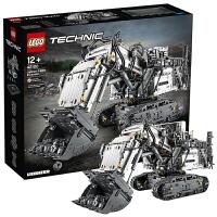 【当当自营】LEGO乐高机械组系列利勃海尔R 9800全遥控挖掘机42100积木