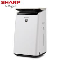夏普(SHARP)空气净化器 KI-CJ70-W 家用加湿机智能远程操控 除甲醛 除PM2.5 实时数显 净离子群杀菌