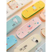 优湃 创意 简约文具盒笔袋女韩国女生可爱小清新初中生文具收纳盒