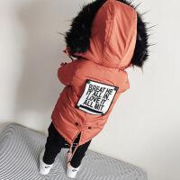 201805050244508154岁半宝宝棉衣3周岁男童冬装5棉袄加厚2冬季套装儿童保暖外套