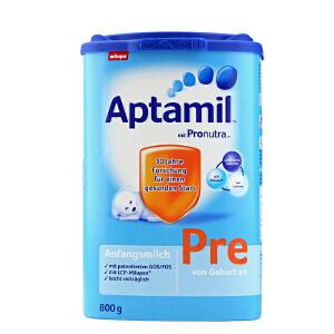 【当当海外购】德国Aptamil爱他美婴幼儿配方奶粉Pre段(0-3个月 800g)