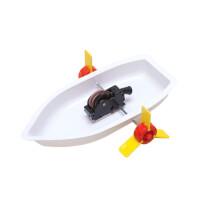 科技小发明制作材料 儿童科学实验玩具小学生新奇创意发明明轮船
