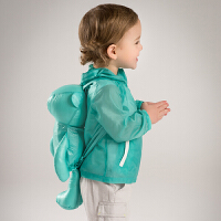 davebella戴维贝拉夏季新款男童防晒外套 皮肤衣 送小背包DB5363