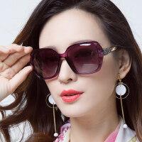 女潮大框圆脸近视眼镜 新款偏光太阳镜女 户外遮阳墨镜长脸眼睛大脸