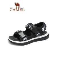 camel骆驼男鞋2019夏季新品凉鞋男潮流韩版户外休闲时尚魔术贴沙滩鞋