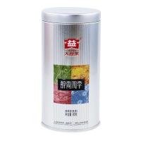 大益普洱茶叶 2019年醇香四季 熟茶 80g/罐
