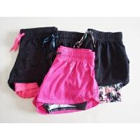 夏季 女士健身防走光健身短裤 网眼透气速干瑜伽裤 夜跑也疯狂