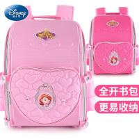 迪士尼苏菲亚书包小学生6-12周岁女童双肩包1-3-6年级儿童背包